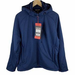 Kirkland Signature Sherpa Fleece Hooded Jacket M
